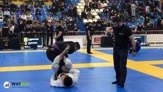 Ilez Hashagulgov vs Ibragim Ismailov - way Bjj Moscow Open 2020