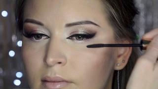 Техника макияжа кошачий глаз урок №64 Wedding Make Up