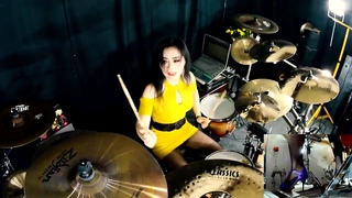 Stratovarius - Speed of light drum cover by Ami Kim(#122)