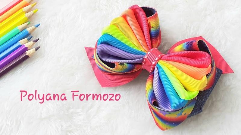 Laço Amora Keyla Colorido Confira as dicas especiais da Poly Formozo