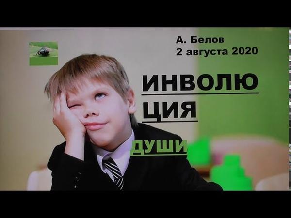 Инволюция души что ждет человечество А Белов 2 августа 2020