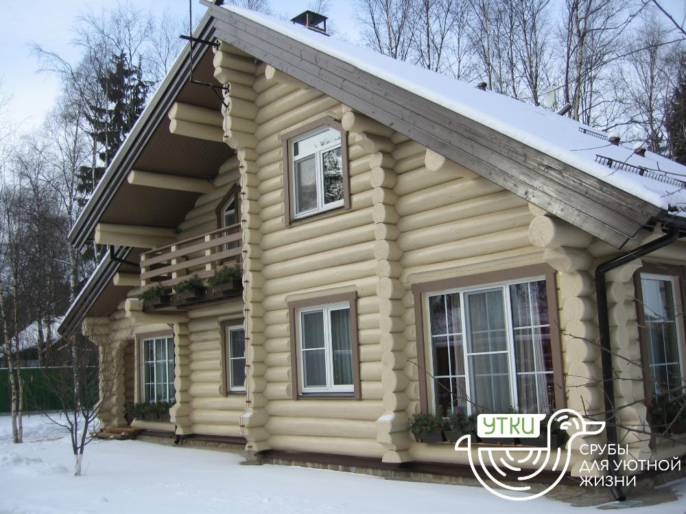 Строительство деревянных домов от компании «УтКи»