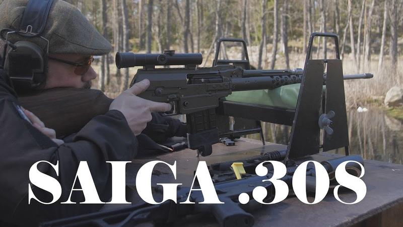 Stop modding that SAIGA 308 it is suffering