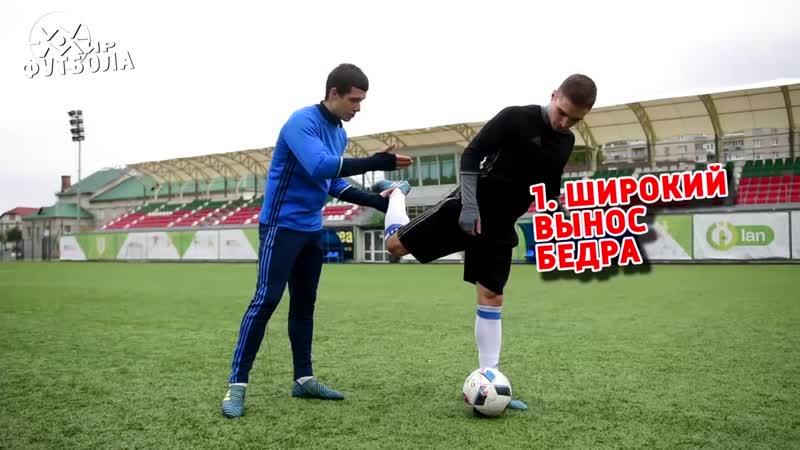 МИР ФУТБОЛА Обучение удару в футболе Как бить по воротам сильно и точно