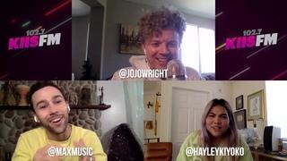 Max & Hayley Kiyoko Talk 'Missed Calls' Collab, Performance Memories, BTS + More!