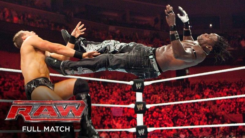 FULL MATCH R Truth vs The Miz United States Title Match Raw May 24 2010