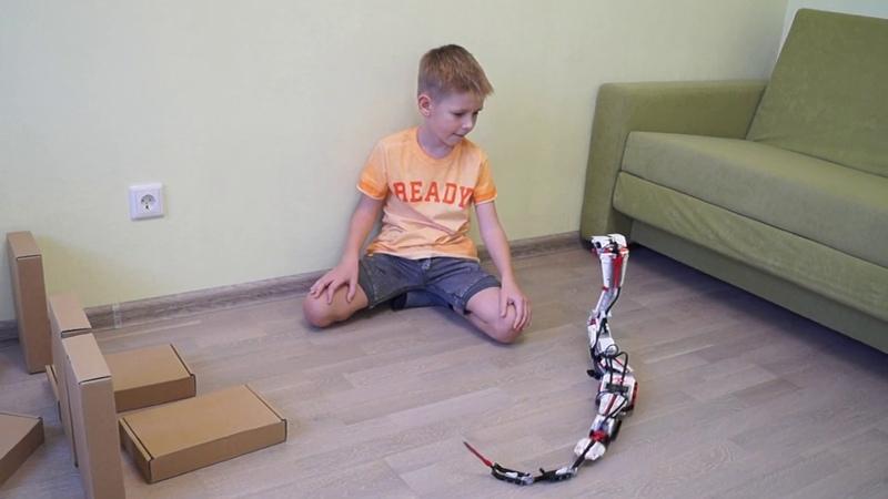 Робот R3PTAR атакует предметы Создание роботов из набора LEGO Mindstorms EV3