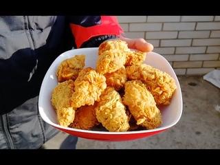 Крылышки KFC, настоящий рецепт крыльев KFC