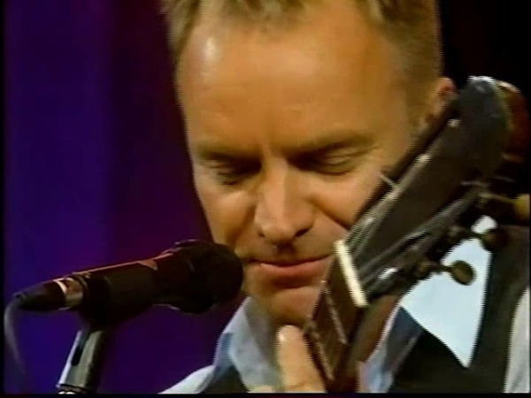 Sting - Until - Live with Regis Kelly (January 14 2002)