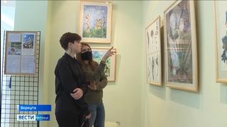 В Воркуте завершается персональная выставка Сергея Гагаузова