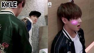 [Озвучка by Kyle] BTS Мини Дорама 'Тэхён в туалете'/ 2015 @MAMA STAR COUNTDOWN