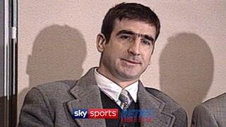 """When the seagulls follow the trawler"" - Eric Cantona's bizarre press conference"