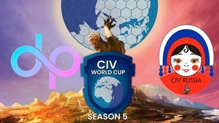 CIvilization 6 турнир 4 на 4 | CWC5 RU Qualifire | DP vs CivRussia