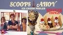 🍦 Scoops Ahoy Ice Cream Shop Real Stranger Things Burbank California 2019 Funko Steve 🍦