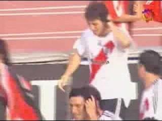 Segundo Gol de River contra Boca Superclasico apertura 2006