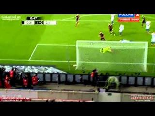 Mario Gotze Tor  Germany 1 - 0 Chile (Friendly Match) )