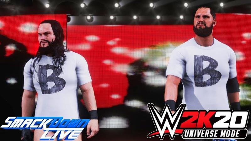 WWE 2K20 Universe - SmackDown LIVE (На Русском) 6