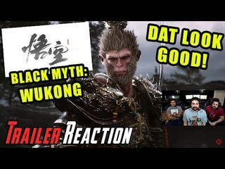 Black Myth: Wukong is MIND BLOWING! - Angry Trailer Reaction!