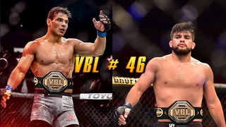 VBL 46 Middleweight Title Fight Paulo Costa vs Kelvin Gastelum