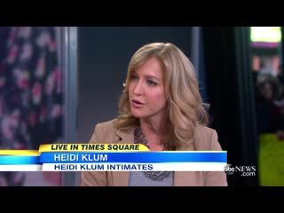 Heidi Klum Launches Lingerie Fashion Line _ FASHIONBEAUTY (Episode 9)