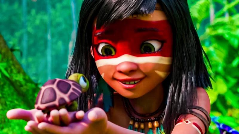 Айнбо Сердце Амазонии Мультфильм 2021трейлер