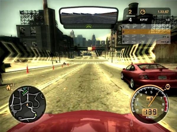 NFS Most Wanted 2005 Porsche 911 Carrera S Серийная Индастриал Фронт Выбывание