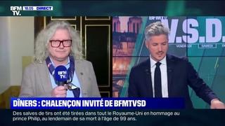 Garde à vue Chalençon vs Manifestant Macron