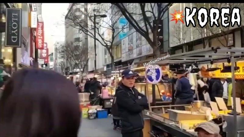 Travel in Korea Korean Street Food Shak's in Korea A hai đi phượt Hàn Quốc 😁
