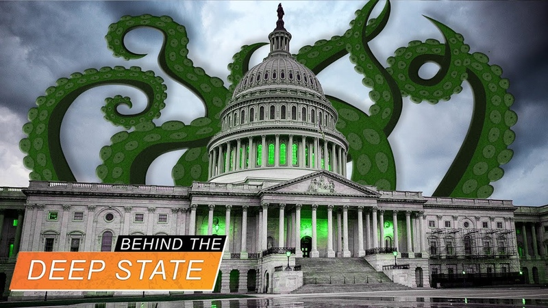 Swamp Monsters in the Bureaucracy Behind The Deep State