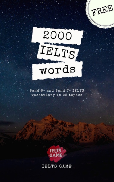 2000 ielts words band 8 and band 7 ielts vocabulary in 25 to