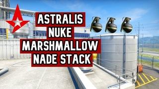 Astralis Nuke Silo Nade Stack