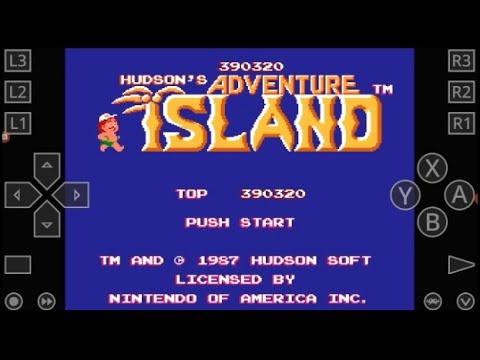 Adventure Island Остров Приключений прохождение игры для денди