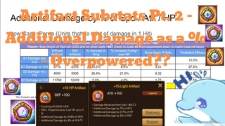 Summoner's War: Artifacts Guide Pt. 2 - Additional Damage Substat. How OP is it? In-depth Look!