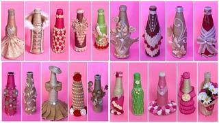 19 Jute Bottle Decoration Ideas/Jute Rope Crafts/ Diy Home Decor