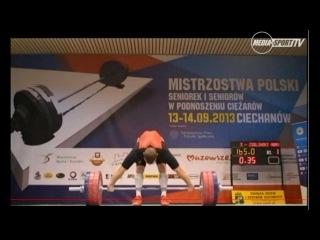 Adrian Zieliński 2013 Polish nationals