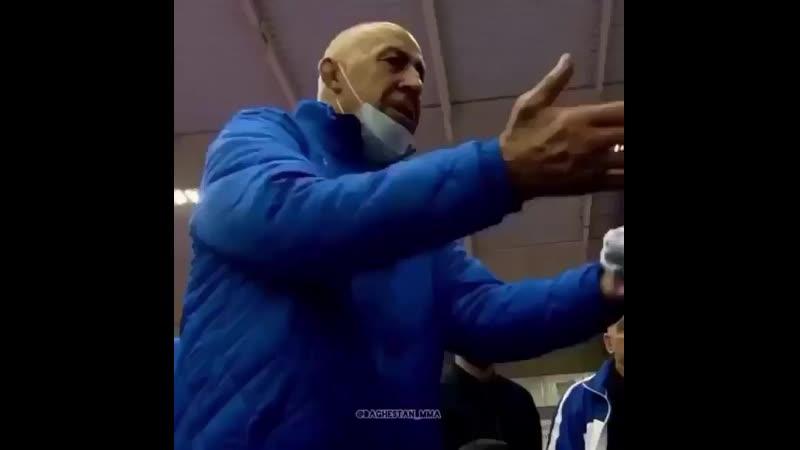 Сердце тренера болит когда его ребят засуживают Магомед Гусейнов достойный горец ✊ Федерация Борьбы России 👎