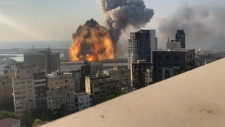 Multiple Scenes of Beirut Explosion💥 Caught in Camera. (WARNING:- Graphic Content)