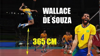 Wallace De Souza | Monster of the Vertical Jump | Insane 365 cm volleyball spike | Best actions