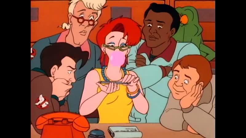 Настоящие Охотники за привидениями 1986 S1E3 Миссис Роджерс Sub Toon Inc