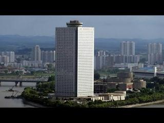 Северная Корея.Пхеньян.Отель Янгакдо номер и корейский обед.