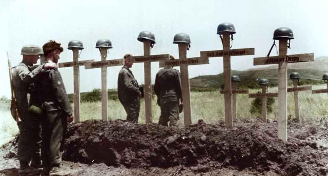 Прощание с десантниками
