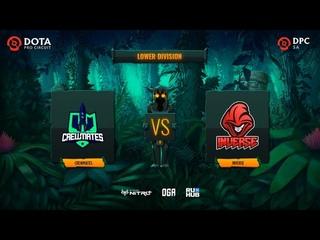 Crewmates vs Inverse, OGA DPC SA Season 2, bo3, game 1 [Smile & Maelstorm]
