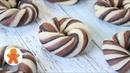 Шоколадные Булочки. Красивые и Очень Вкусные Домашние Булочки