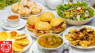 МЕНЮ №12 на Каждый День для всей семьи. Готовлю Завтрак, Обед и Ужин
