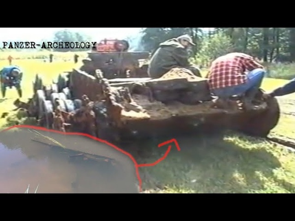 Story of the Panther Tank excavated from Czarna Nida river in Poland 2003