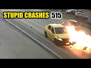 Stupid driving mistakes 515 (August 2020 English subtitles)