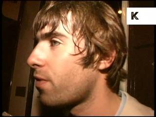 1990s Liam Gallagher Drunk Interview, Archive Footage