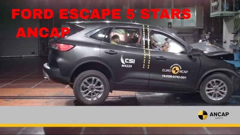 All New 2021 Ford Escape Achieves 5 Star ANCAP Rating