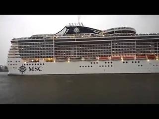 Seven Nation Army в исполнении капитана круизного лайнера MSC Magnifica
