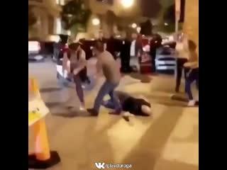 Нападение на мотоциклиста